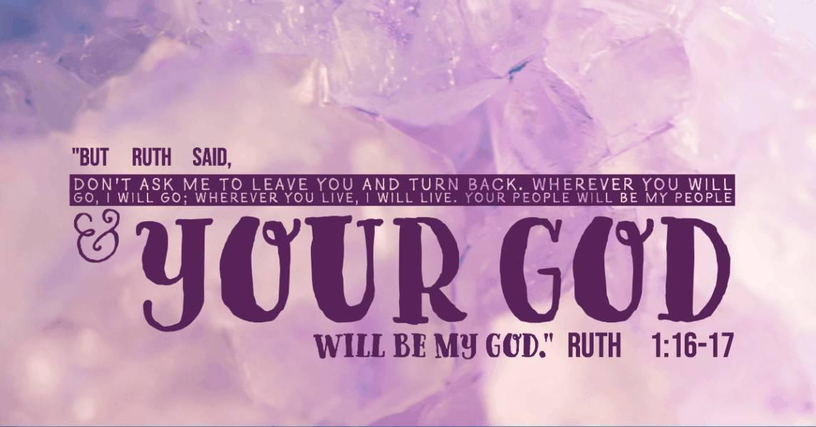 Bible scripture verse Ruth 1:16-17